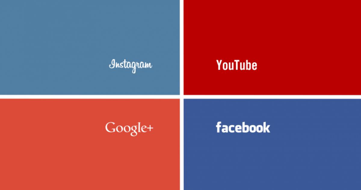 Social Media Colors and Fonts • Russwurm
