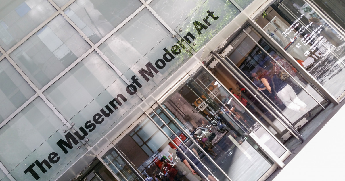 Entrance MoMA | Russwurm