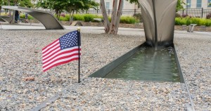 Pentagon Memorial Flag